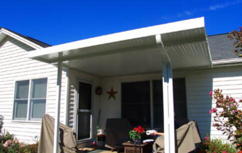 Flat Pan Patio Cover